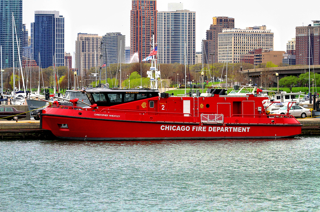 Chicago Fire Boat The Christopher Wheatley Engine 2