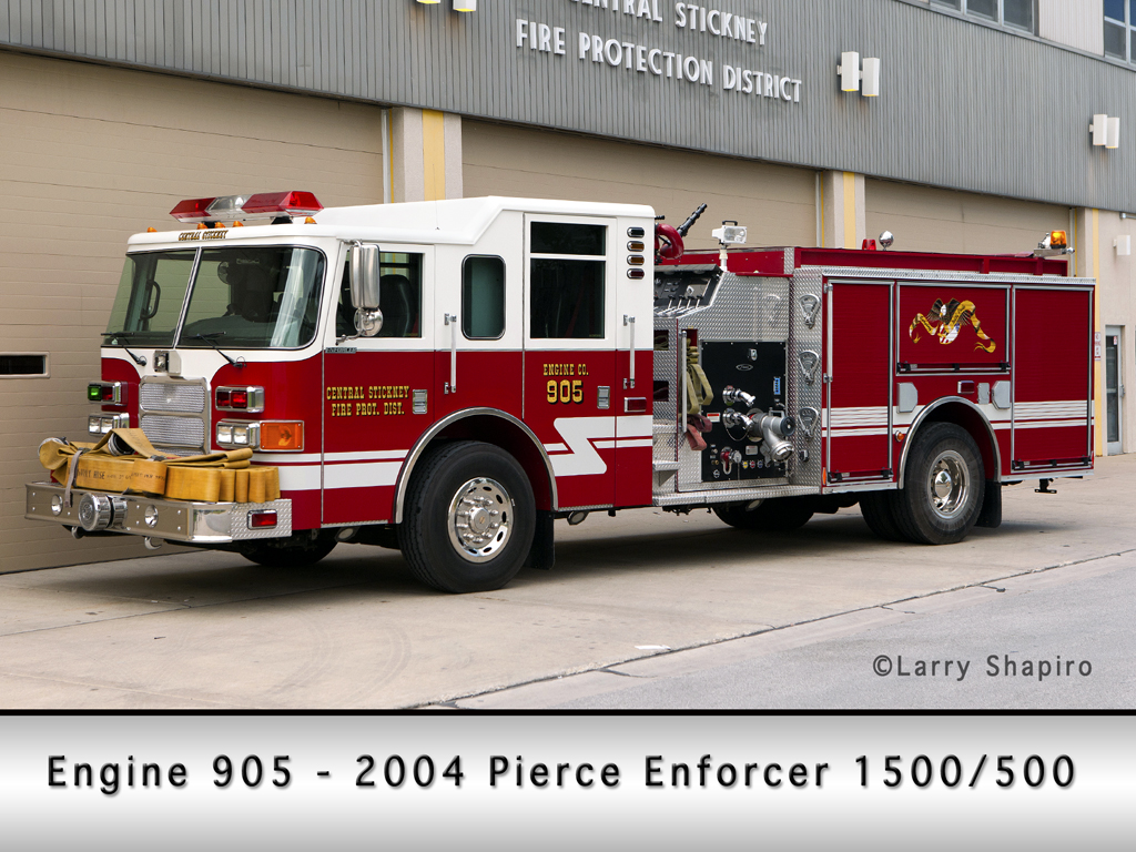 Central Stickney Fire Protection District Pierce Enforcer