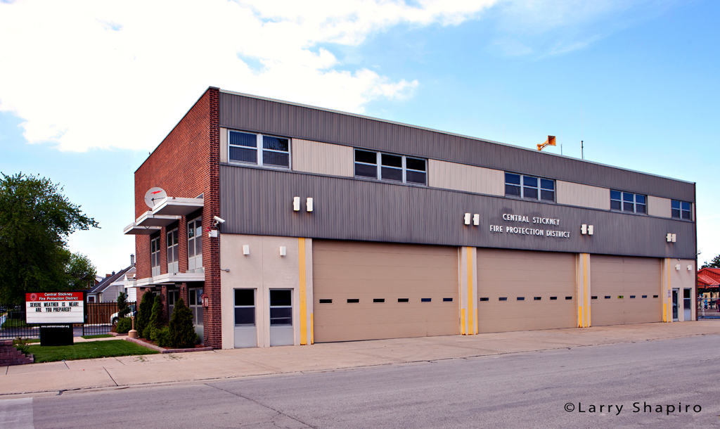 Central Stickney Fire Protection District station