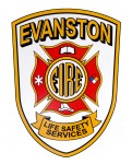 Evanston Fire Department decal