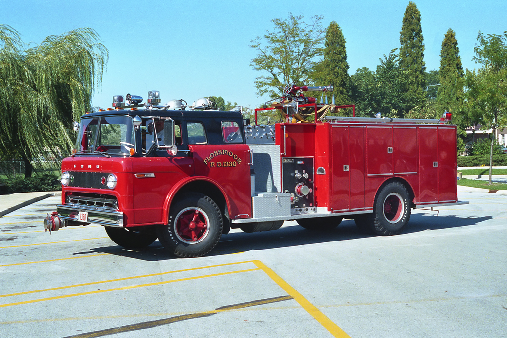 Flossmoor Fire Department 1973 Ford Darley engine
