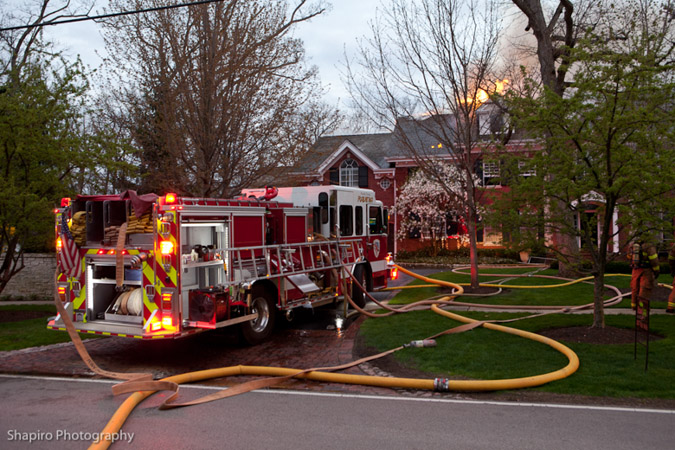 Highland Park house fire Sheridan Road 5-9-11