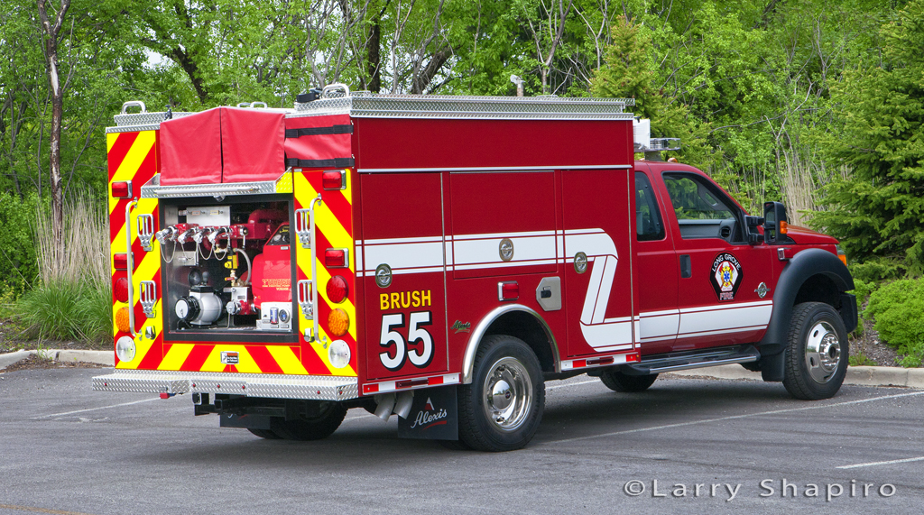 Long Grove Fire Department Ford F550 Alexis Type 6 wildland unit