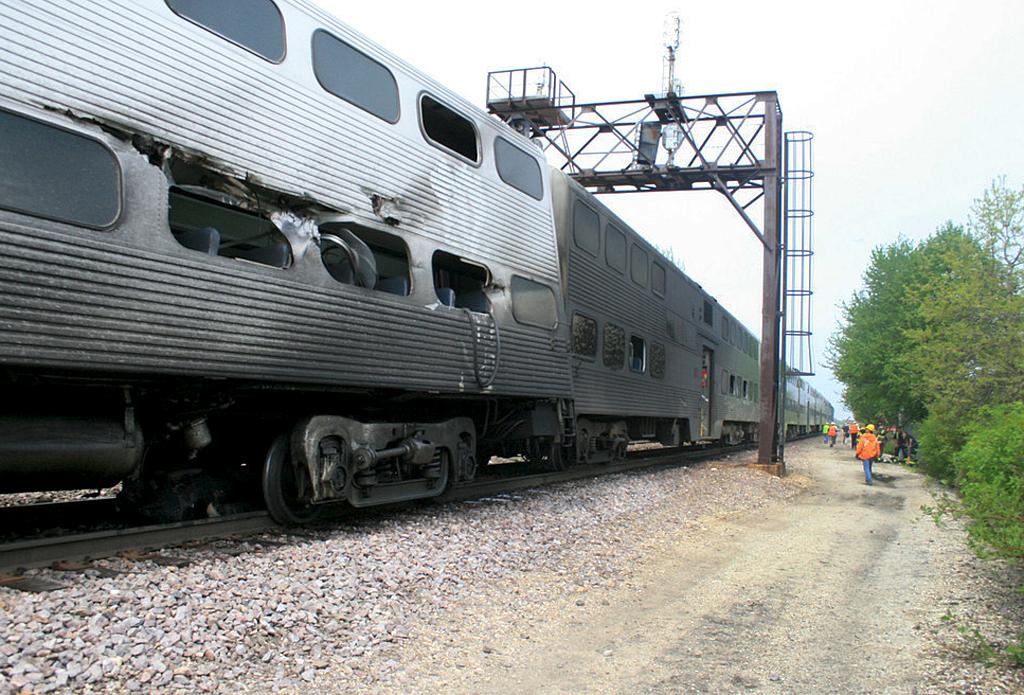 Car Accident Train Chicago