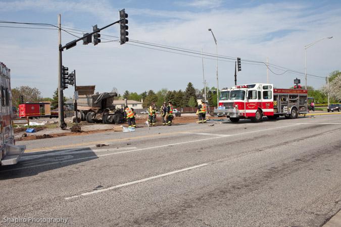 Mount Prospect Des Plaines Metra train accident 5-13-11