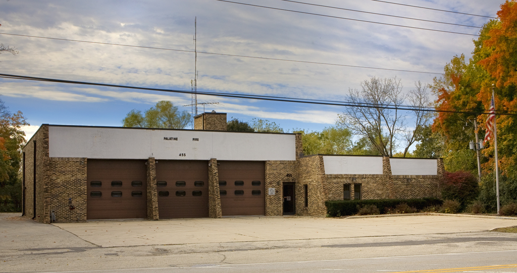 Palatine Fire Department old Station 81