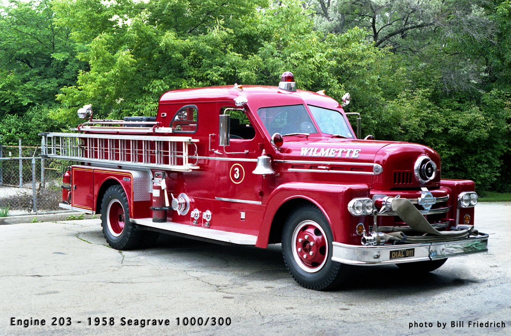 Wilmette Fire Department history