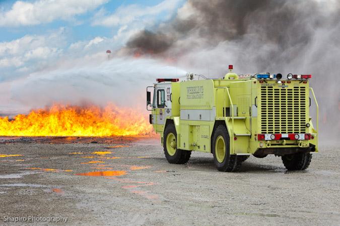 Wheeling Fire Department Crash Truck 23