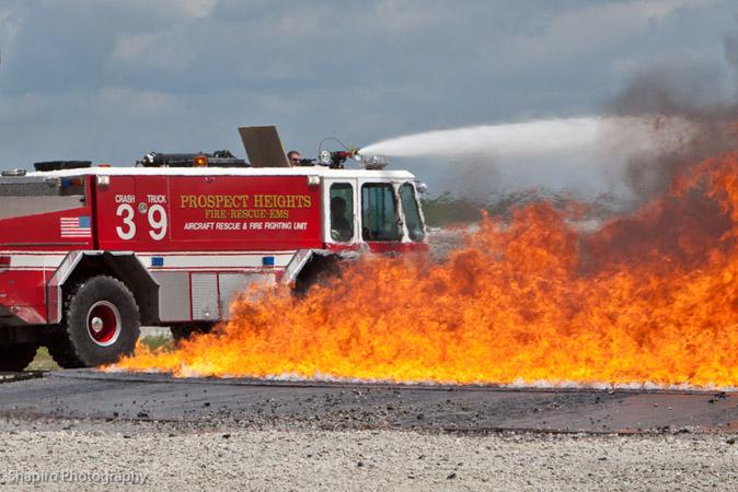 Prospect Heights Fire Department Crash Truck 39