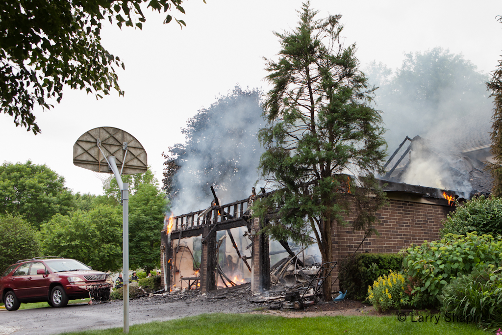 Lake Zurich Fire Department house fire Brandon Road Kildeer