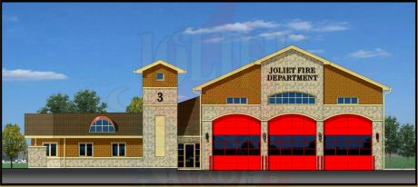 Joliet Fire Station 3 rendering