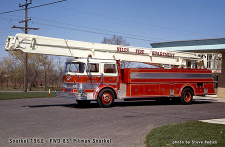Niles Fire Department history