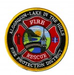 Algonquin-Lake In The Hills Fire District patch