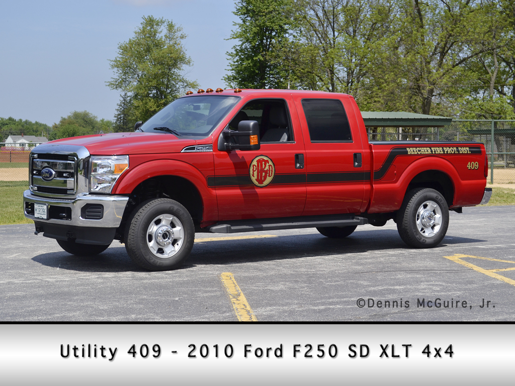 Beecher Fire Department utility