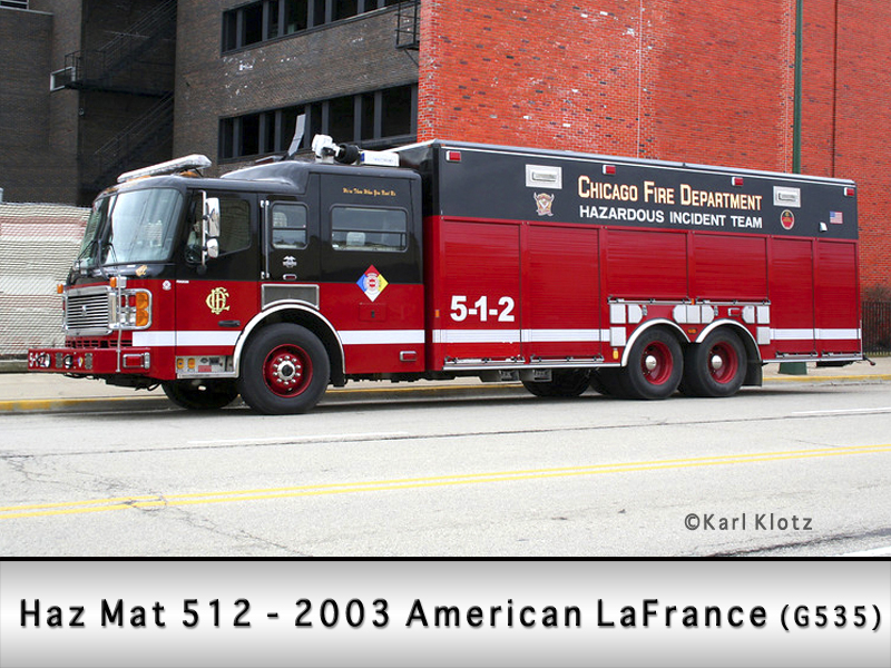 Chicago Fire Department Hazardous Incident Team 5-1-2