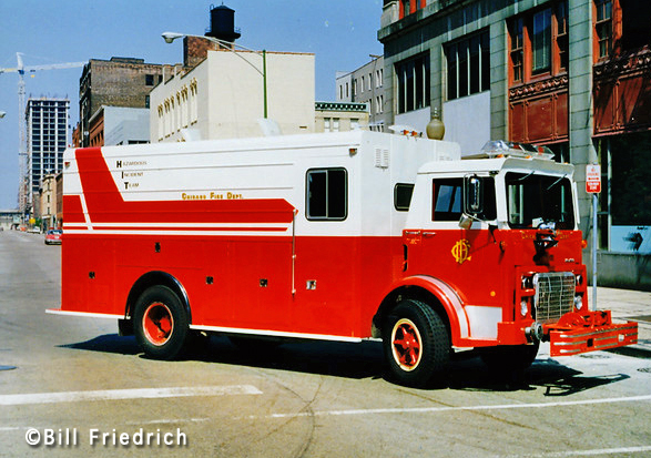 Chicago Fire Department Hazardous Incident Team 5-1-1