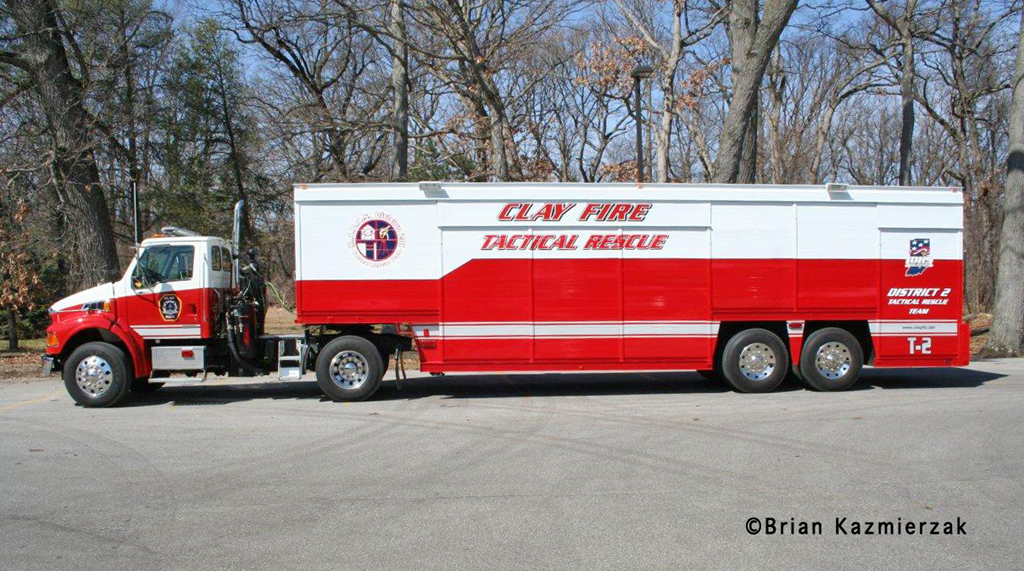 Clay Fire Territory Tactical Rescue Unit