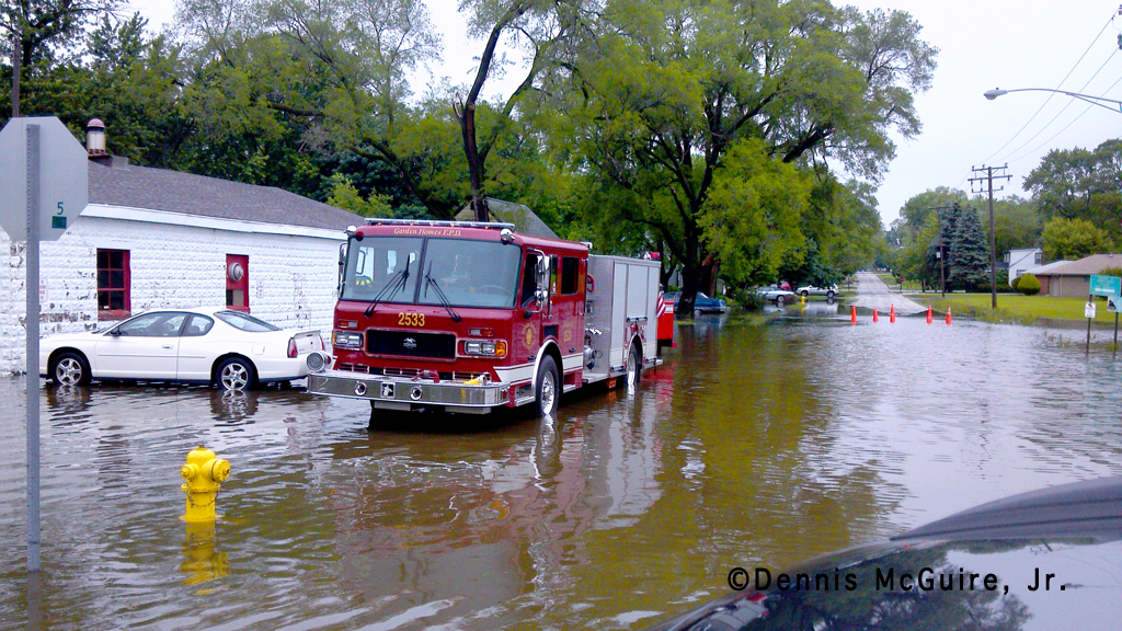 Garden Homes Fire Protection District flooding