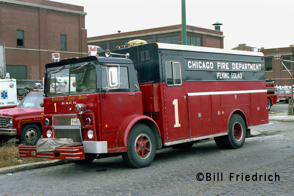 Chicago Fire Department Flying Manpower Squad 1