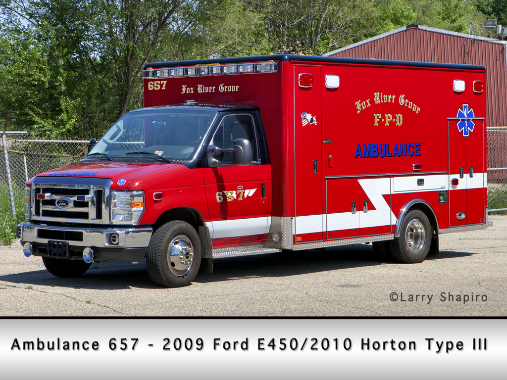 Fox River Grove Fire Protection District Horton ambulance