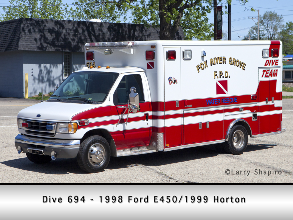 Fox River Grove Fire Protection District Dive Rescue Unit