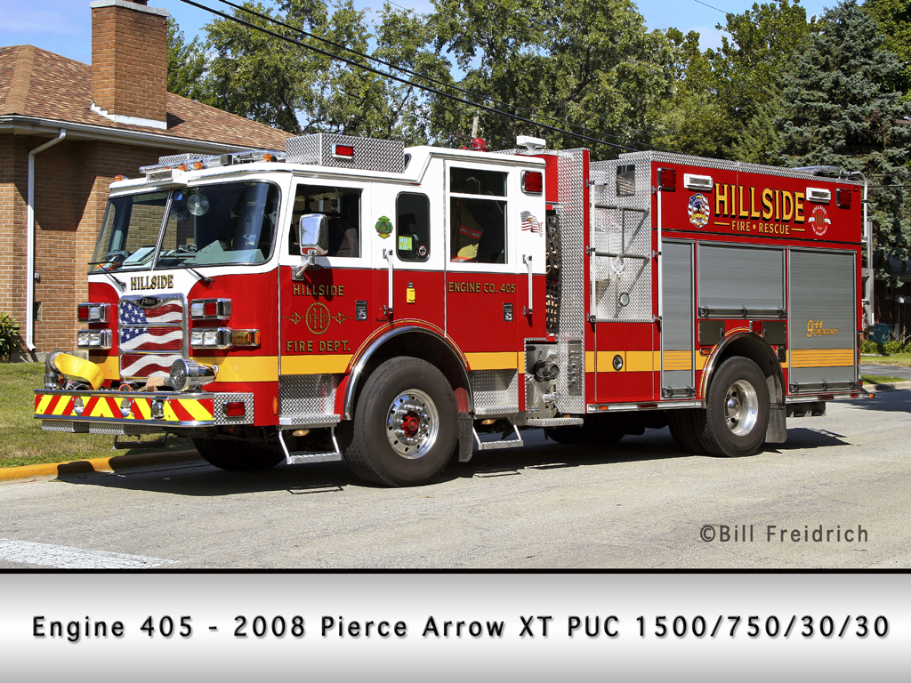 Hillside Fire Department Pierce Arrow XT PUC