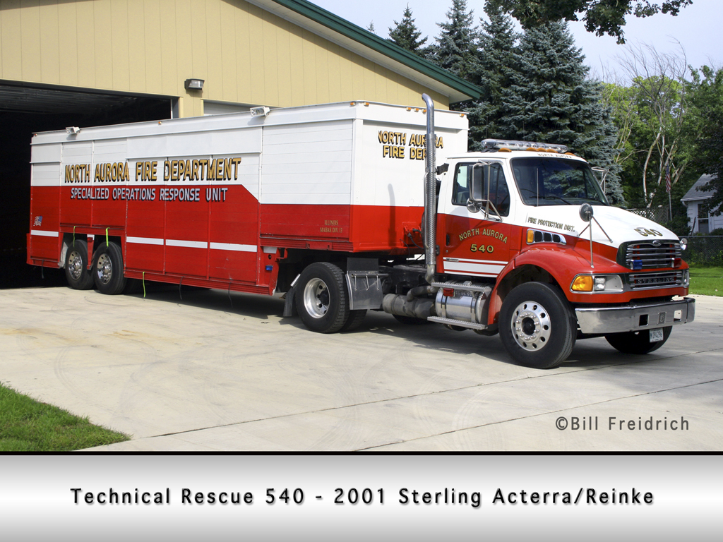 North Aurora Fire Protection District Technical Rescue 540