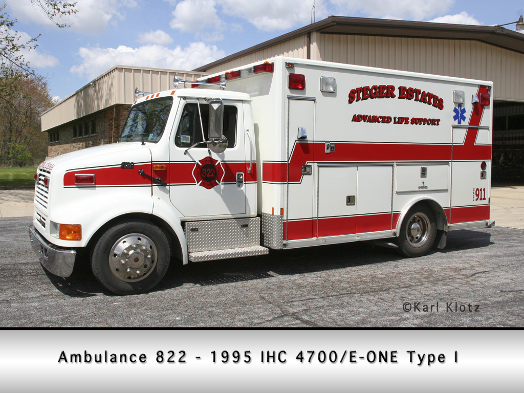 Steger Estates FPD ambulance