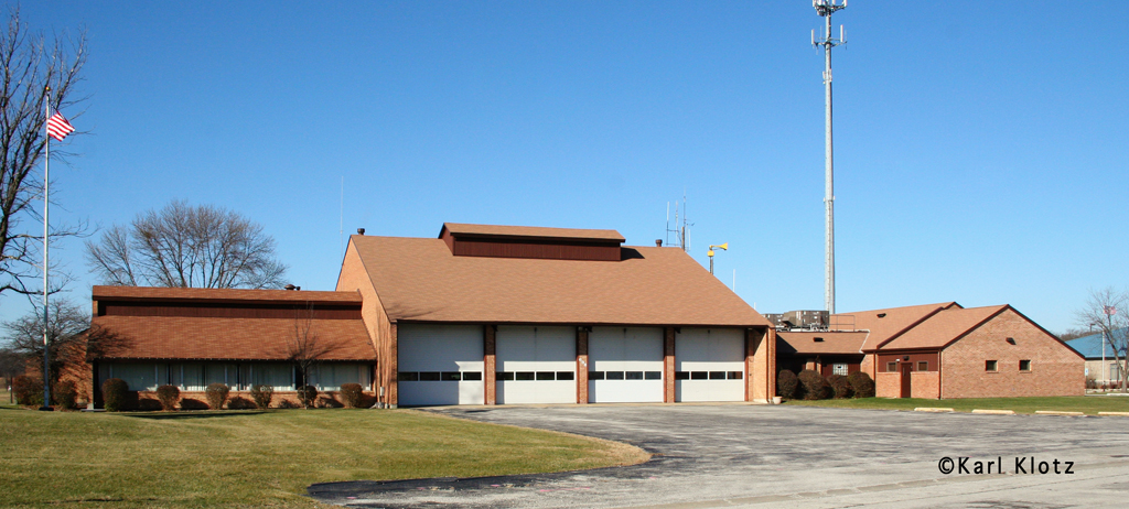 University Park Fire Department station