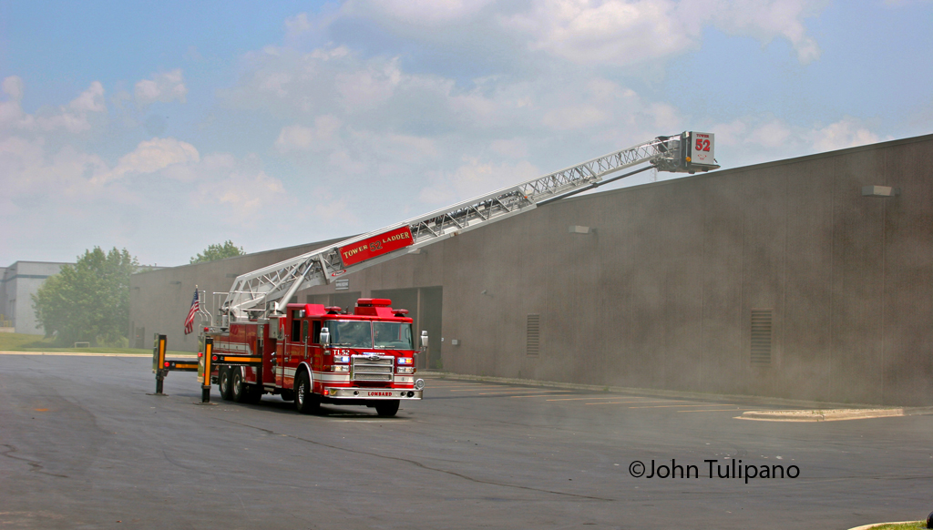 Addison commercial fire 7-1-11