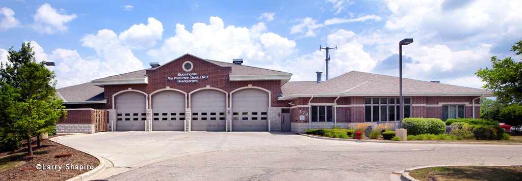 Bloomingdale Fire Protection District No. 1 headquarters fire station 1