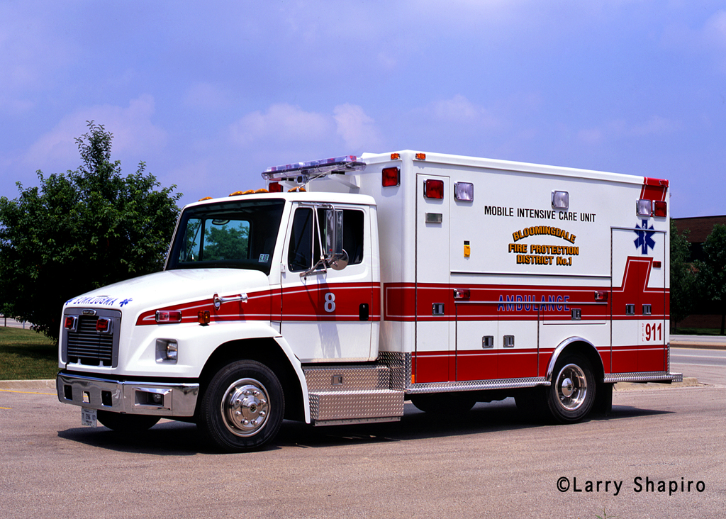 Bloomingdale Fire Department ambulance
