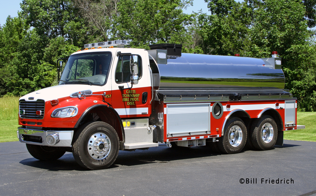 Crete Township FPD Alexis-Freightliner tanker