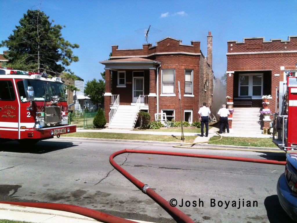 Cicero house fire 7-20-11