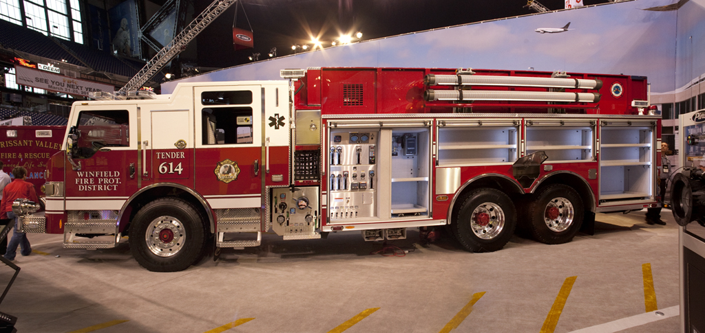 Winfield Fire Protection District Pierce Impel PUC pumper/tanker