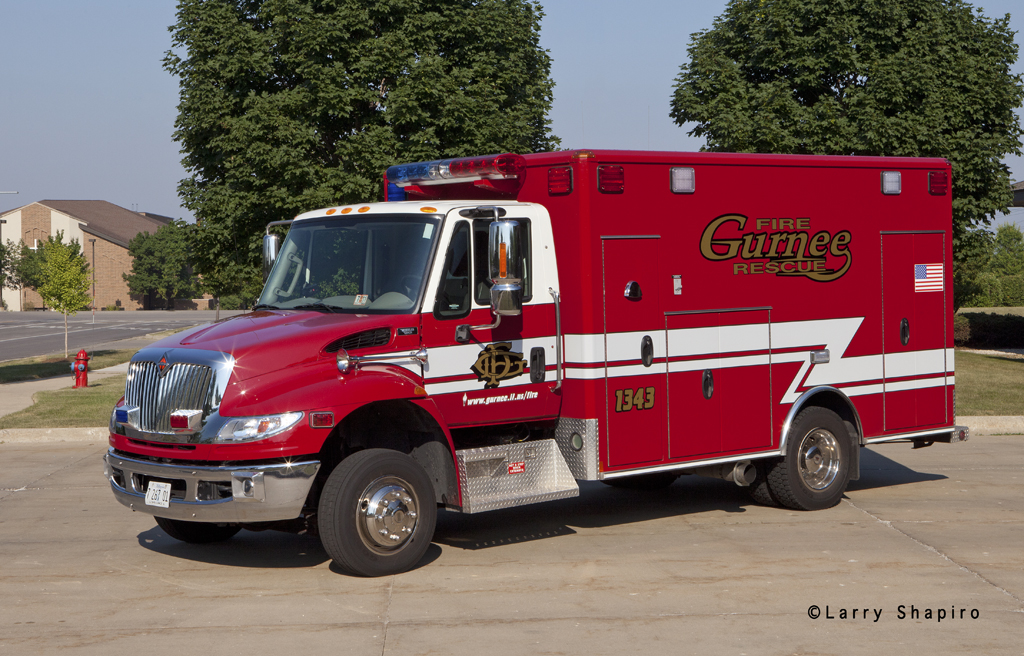 Gurnee Fire Department new ambulance Wheeled Coach
