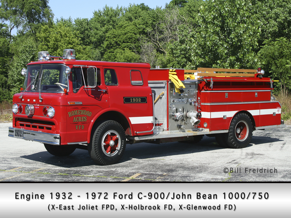 Homewood Acres FD ENgine 1932
