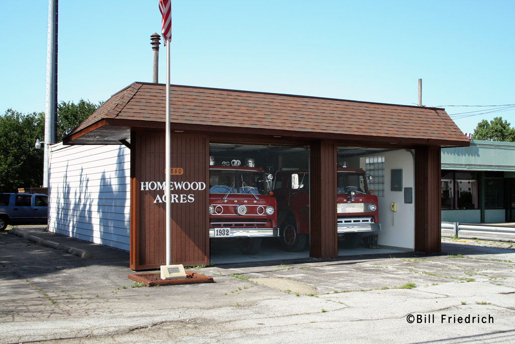 Homewood Acres Fire Department station