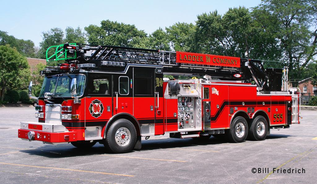 Homewood Fire Department 2011 Pierce Arrow XT quint