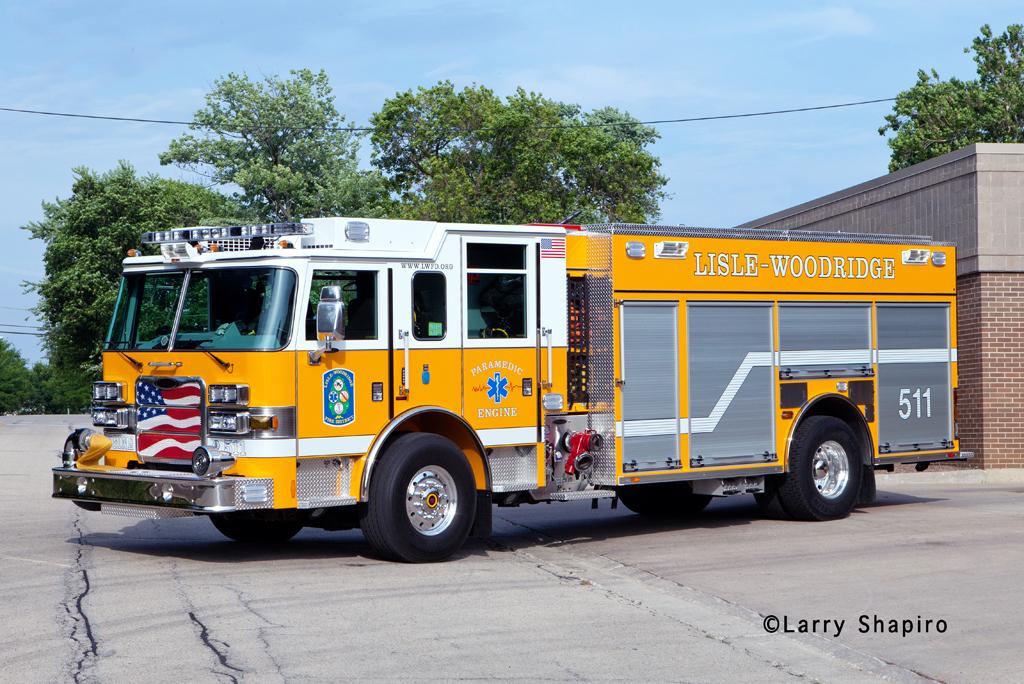 Lisle Woodridge Fire District 2011 Pierce Arrow XT PUC Engine 511