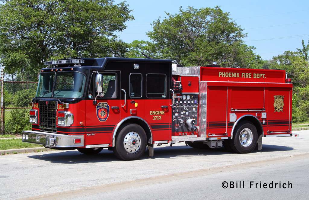 Phoenix Fire Department 2011 Spartan Smeal engine