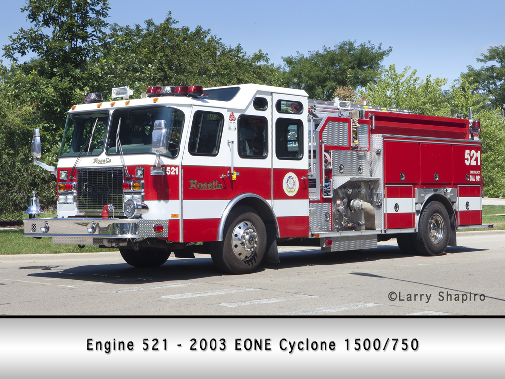 Roselle Fire Department Engine 521