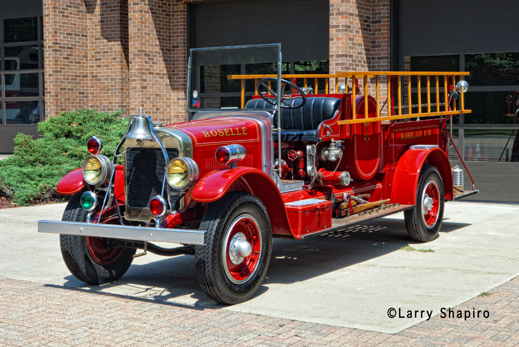 Roselle Fire Department 1927 Pirsch Type S