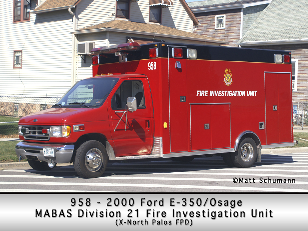 MABAS Division 21 Fire Investigation Unit