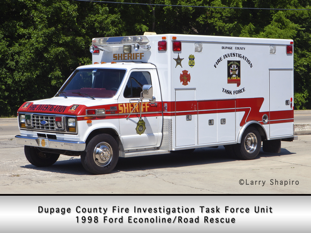 Dupage County Sheriff Fire Investigation Unit