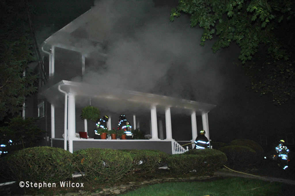 Wheaton house fire on Ellis 6-17-11