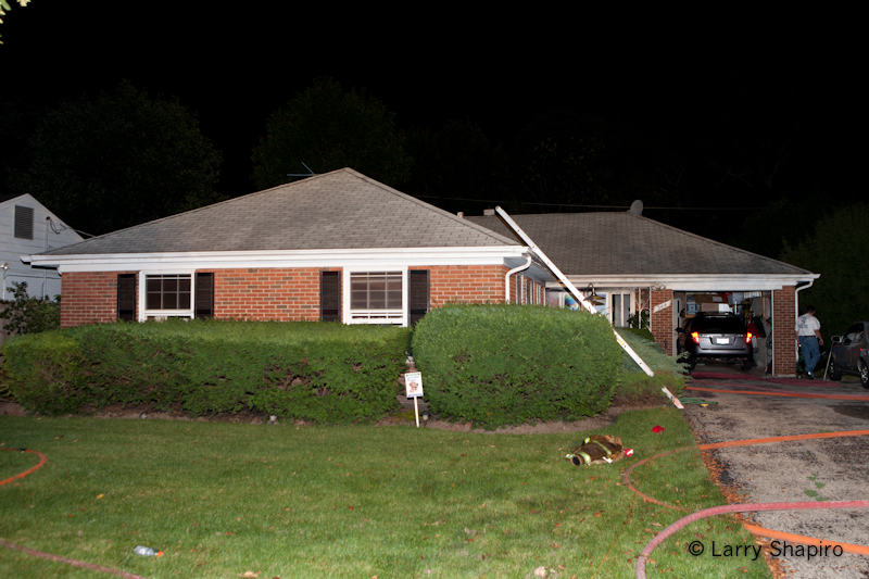 Northfield house fire on Wagner Road 8-28-11