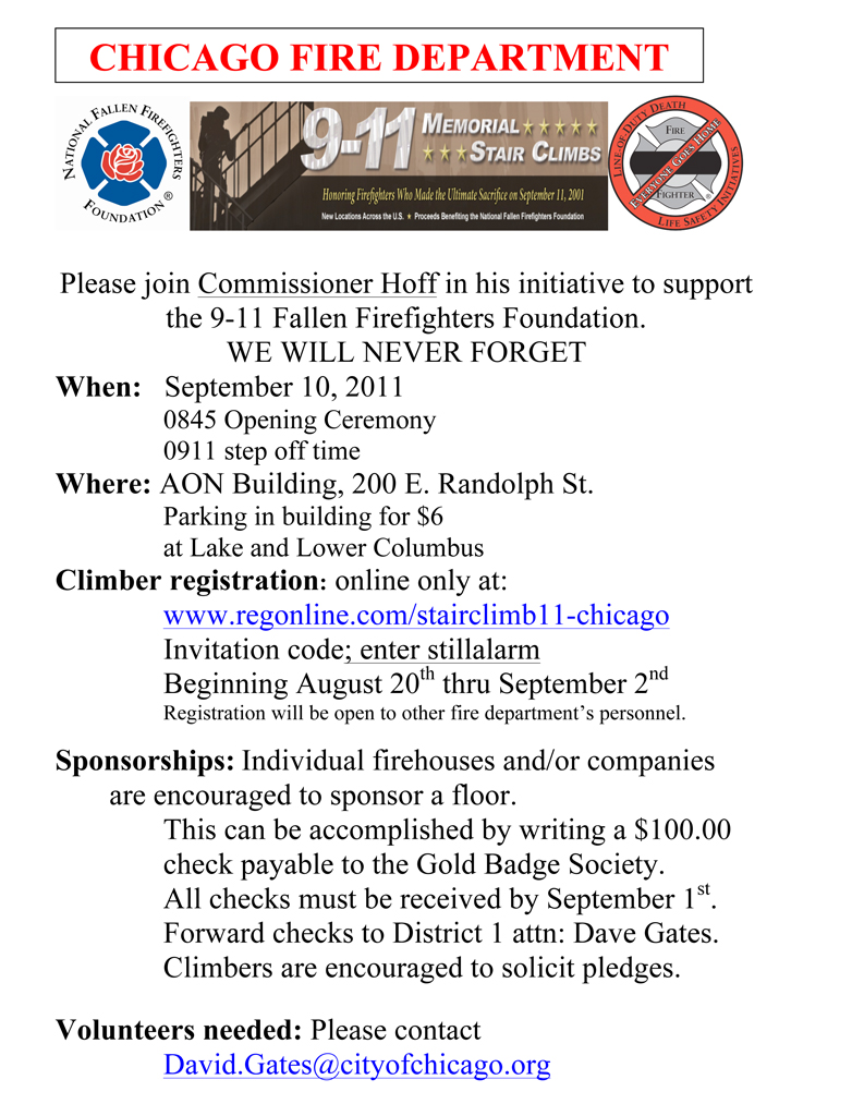 9/11 Stair Climb in Chicago