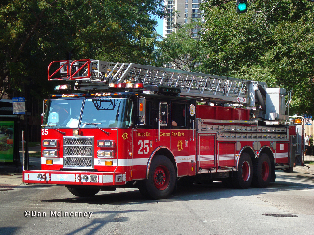 Chicago Fire Department Truck 25
