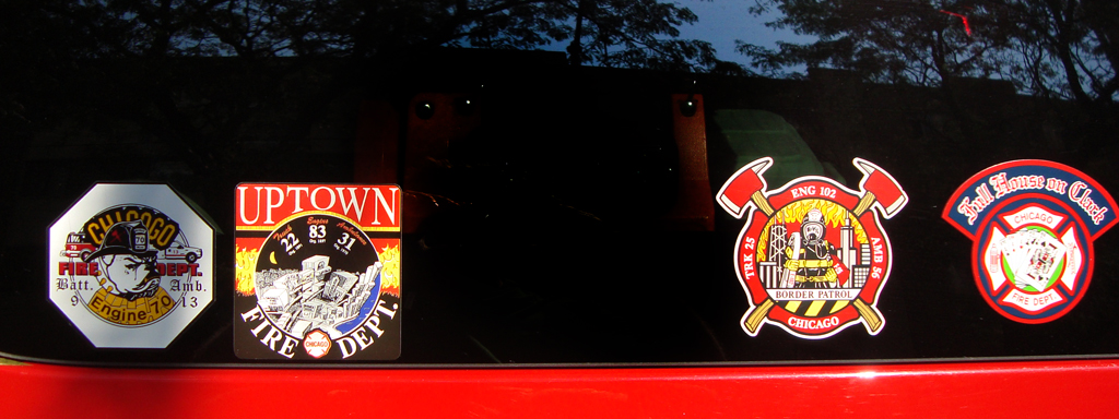 Chicago Fire Department company emblems